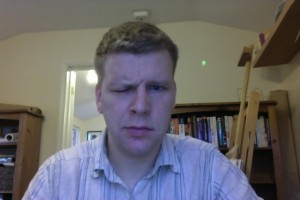 Bells Palsy - Day 8 frown photo