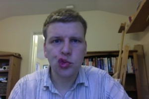 Bells Palsy - Day 8 Blow Kiss photo
