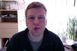 Bells palsy day 121 kiss